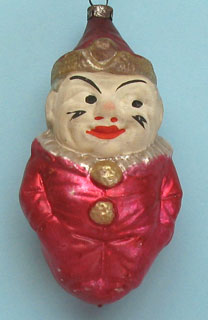 """Smiling Tom"" large ornament, about 11cm."